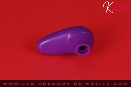 Kmille teste le stimulateur de clitoris sans contact, Womanizer Starlet.