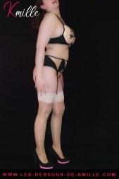 Kmille présente l'ensemble 3 pièces Mehendi, de la marque Roza Lingerie.