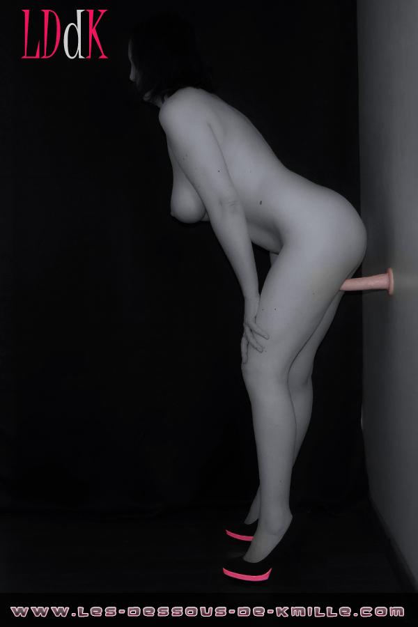 Image d'illustration - Les tests de Kmille. Le gode réaliste King Cock de Pipedream