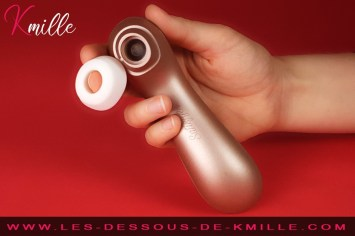 Kmille teste le Satisfyer Pro 2 Vibration.