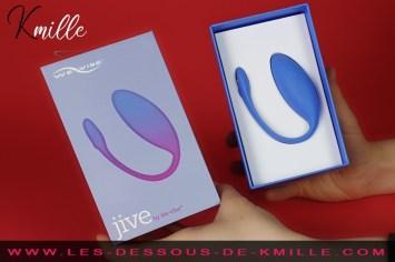 Kmille teste l'oeuf vibrant connecté We-Vibe Jive.