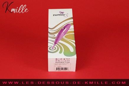 Test d'un stimulateur de clitoris avec SpiroTip, de la marque Zumio.