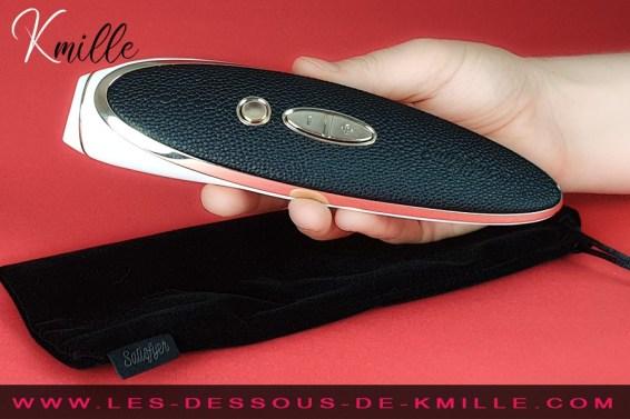 Kmille teste le Satisfyer Luxury Haute Couture.