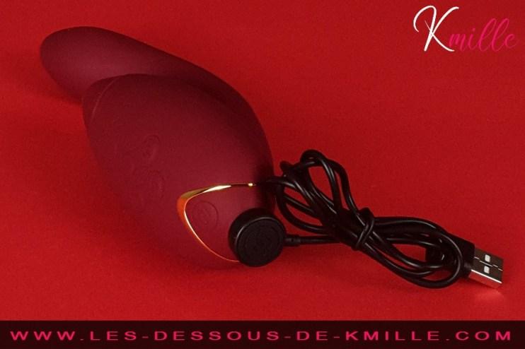 Kmille teste le double stimulateur Womanizer Duo.