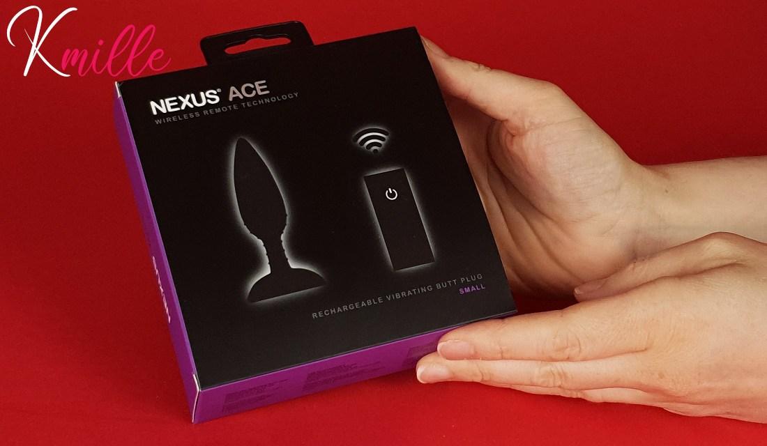 Le plug anal vibrant télécommandé Ace de Nexus
