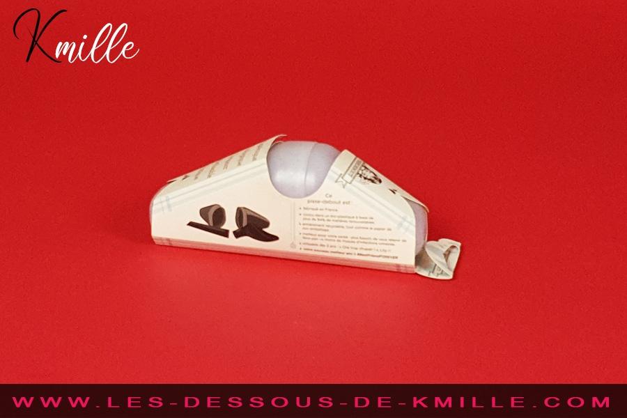 Kmille teste le pisse-debout réutilisable, de la marque Pissedebout.