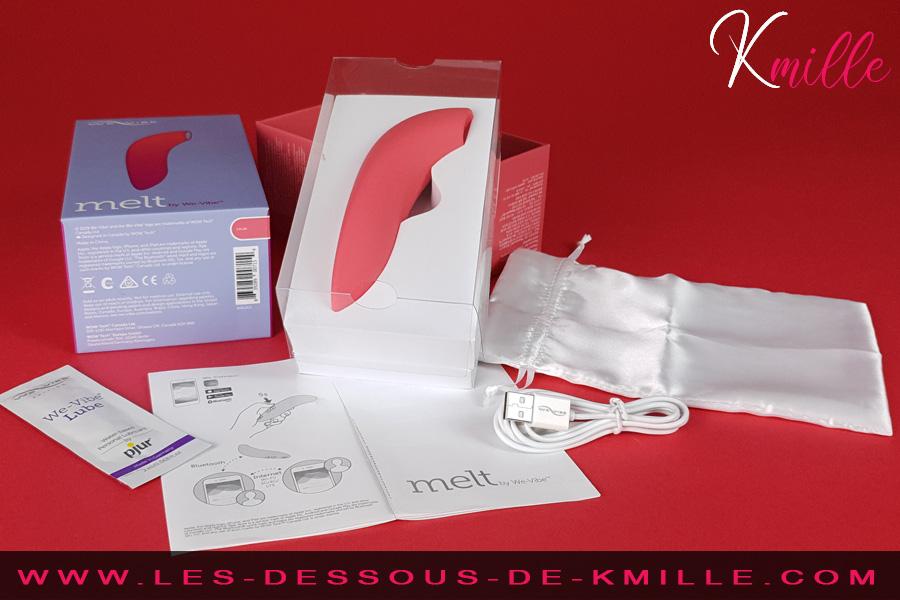 Kmille teste le stimulateur clitoridien connecté Melt, de We-Vibe.