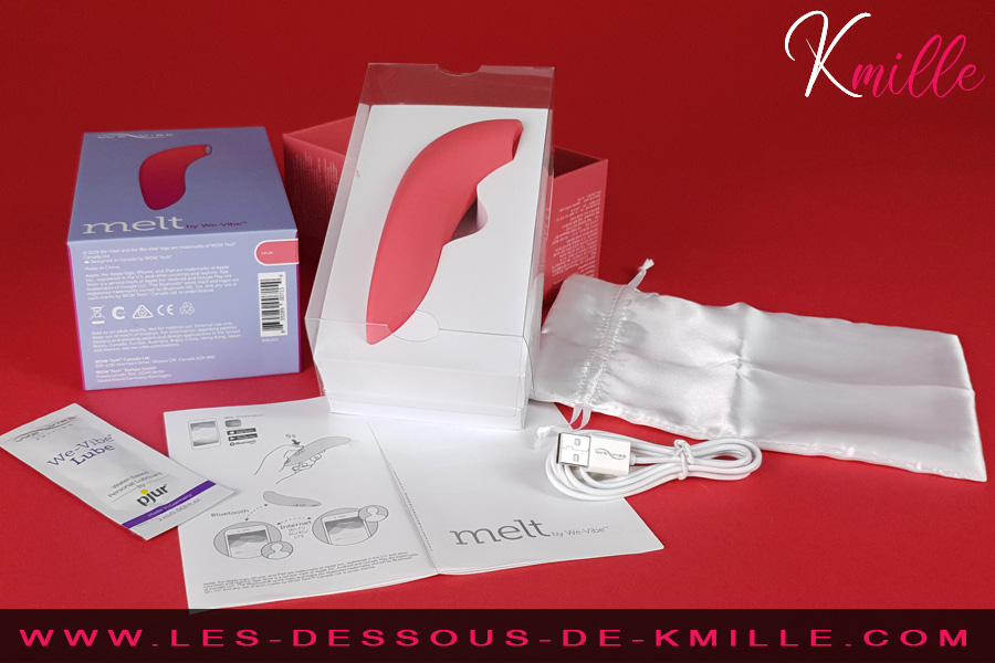 Stimulateur de clitoris We-Vibe Melt