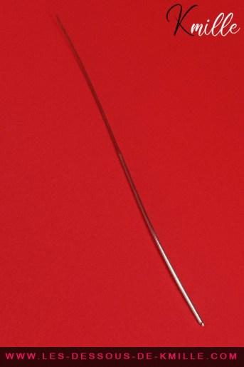 Céd' teste la sonde à urètre pour débutant, de la marque Push Production.
