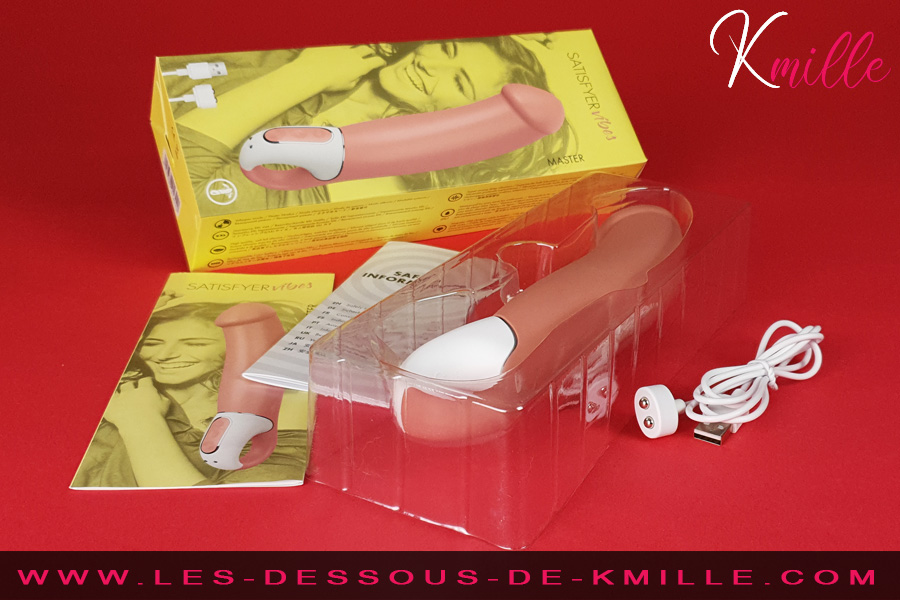 Kmille teste le vibromasseur Satisfyer Vibes Master.