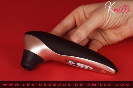 Kmille teste la réédition du stimulateur clitoridien, Womanizer Pro 40