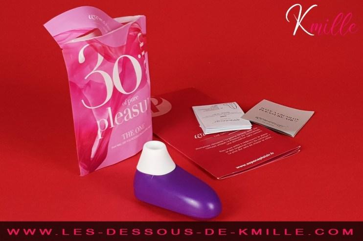 Kmille présente le stimulateur sans contact Womanizer ONE