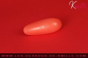 Test du stimulateur clitoridien sans contact compact de Womanizer.