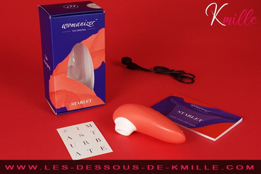 Stimulateur de clitoris Womanizer Starlet 2