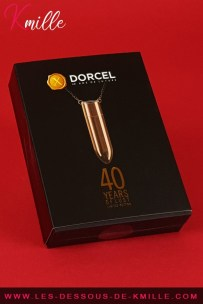 Test d'un stimulateur bullet discret, de la marque Dorcel.