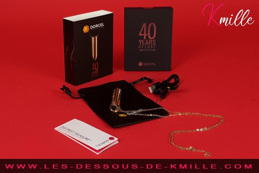 Kmille teste le stimulateur bullet Discreet Pleasure de Dorcel.