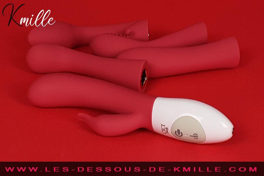 Kmille présente les embouts vibrants pour contrôleur Cici, de Cici Beauty.