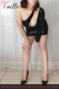 Les cadeaux de Cyllou21 - La robe F199 de Noir Handmade