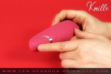 Kmille teste un Womanizer Premium Girly.