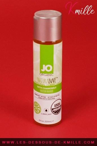 Test d'un lubrifiant à base d'eau, de la marque System JO.