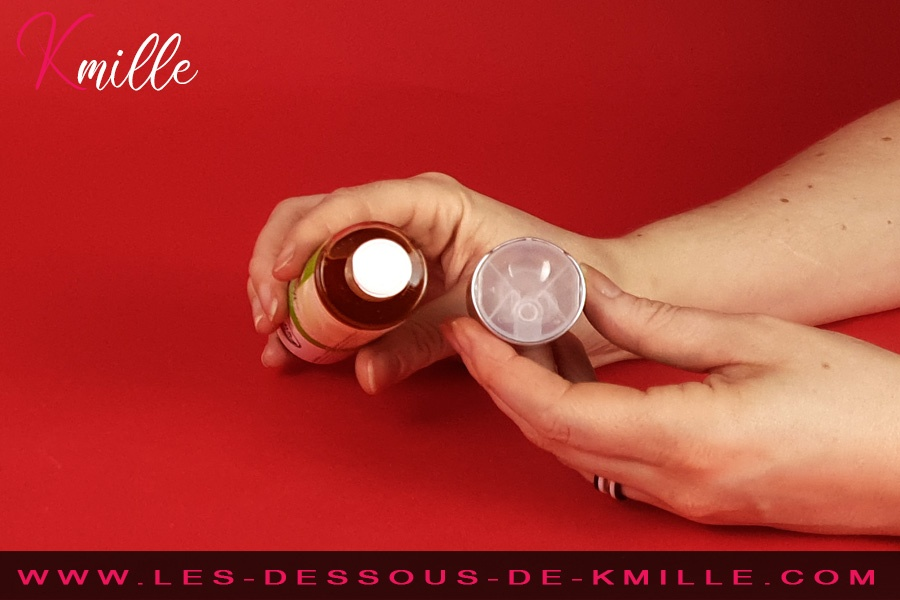 Kmille teste le lubrifiant Organic NaturaLove, de System JO.