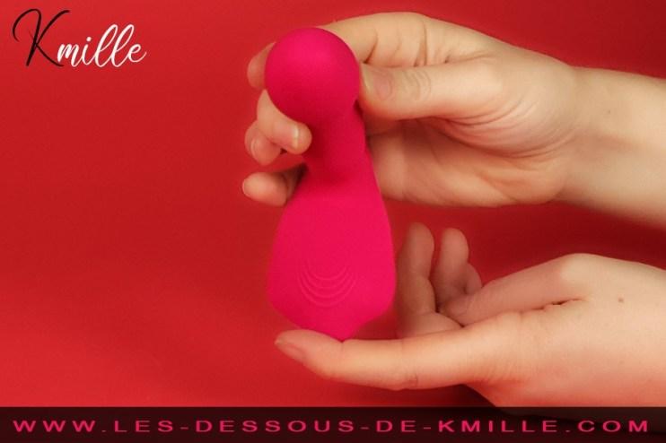 Kmille teste le stimulateur chauffant Secret Clit, de Dorcel.