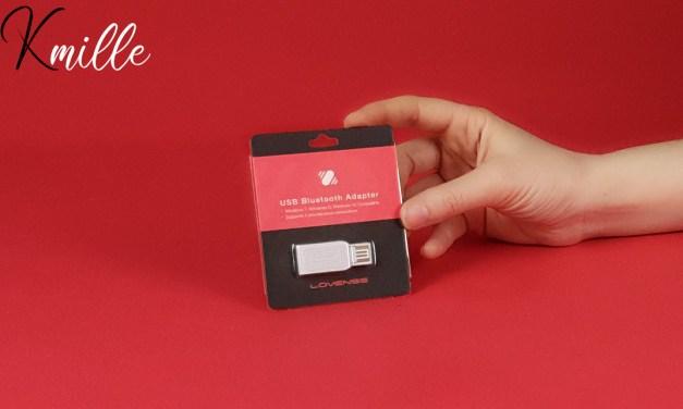 L'adaptateur Bluetooth USB, de la marque Lovense