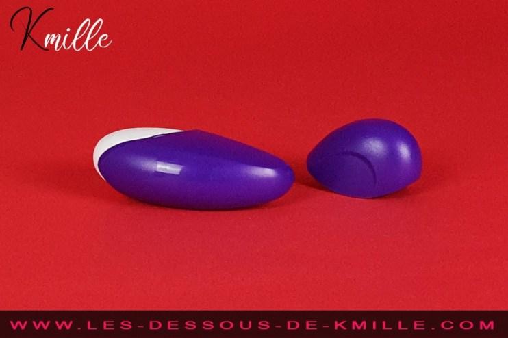 Test d'un stimulateur clitoridien format voyage, de la marque ROMP.