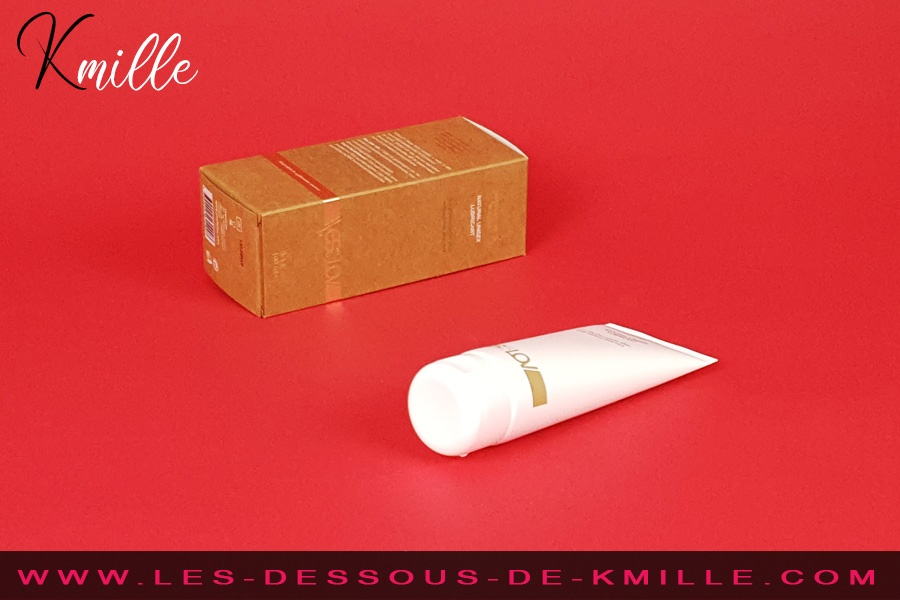 Kmille teste le lubrifiant mixte Naturel Aloe Vera, de la marque YESforLOV.