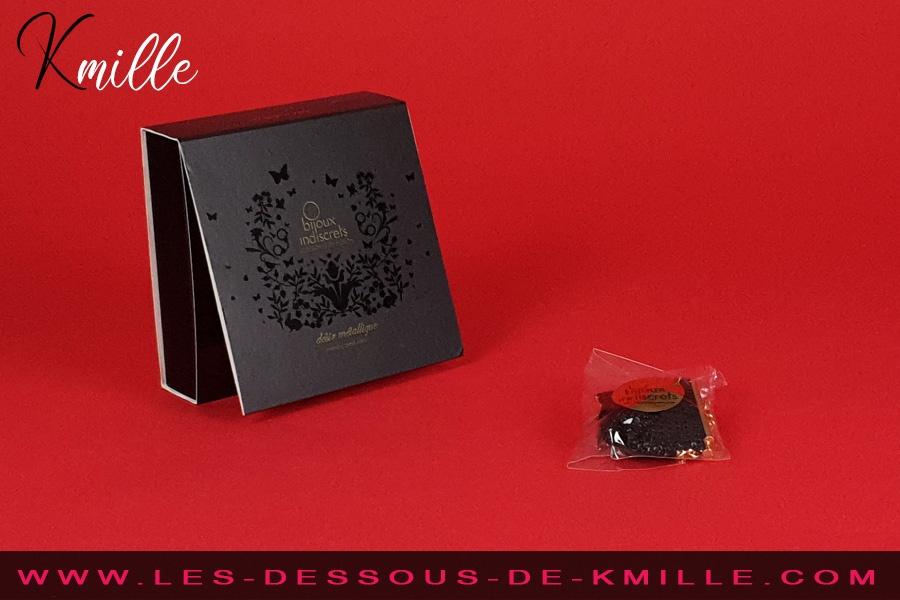 Kmille présente le collier Désir Métallique, de Bijoux Indiscrets.
