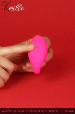 Kmille teste le double stimulateur télécommandé Wonderlove, de Love to Love.
