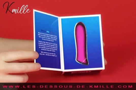 Kmille teste le vibromasseur bullet Ignite, de la boutique Lovehoney.