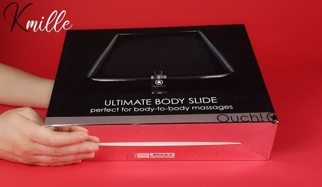 Lit de massage Nuru Ultimate Body Slide, de la marque Ouch!
