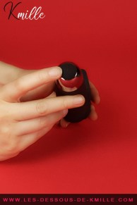Test d'une baguette masturbatrice vibrante, de la marque ManWan.