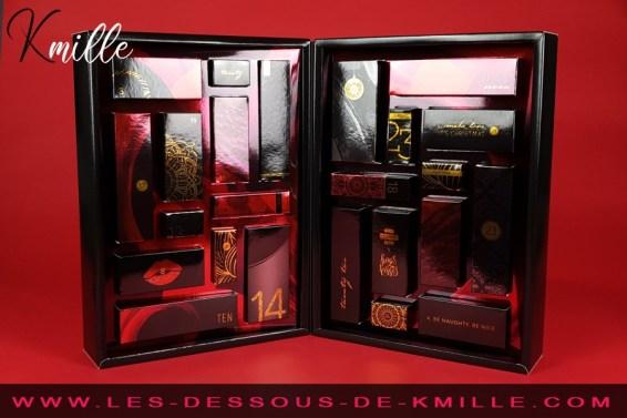 Kmille présente le calendrier de l'Avent Erotique 2020, de espaceplaisir.