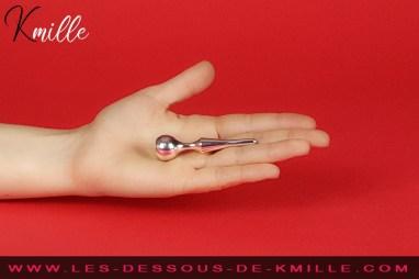 Les Tests de Kmille : Le plug à urètre Jaz Lance en aluminium, de Diogol.