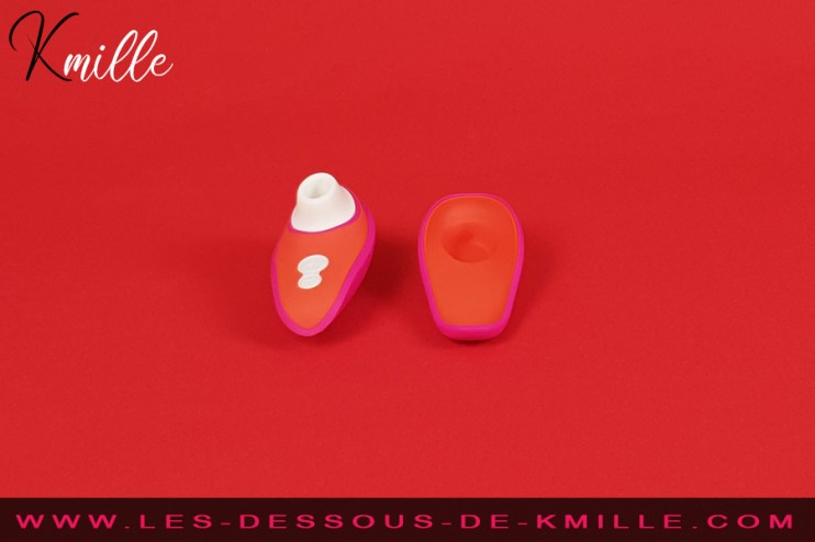Test d'un stimulateur clitoridien sans contact de Womanizer, plébiscité par Lily Allen.