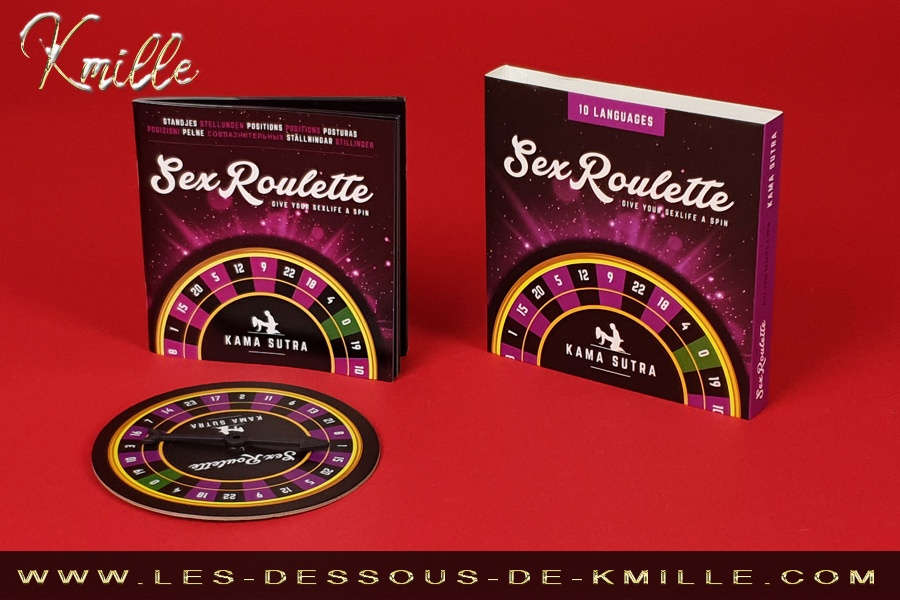 Test du jeu coquin Sex Roulette Kama Sutra, de Tease & Please.