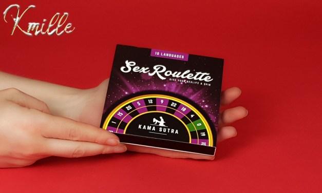 Le jeu coquin Sex Roulette Kama Sutra, de Tease & Please
