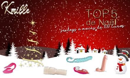 Noël Coquin : Top 5 des sextoys à moins de 100 Euros, à offrir ou s'offrir !