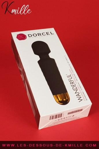 Test d'un vibromasseur puissant et ergonomique, de la marque Dorcel.