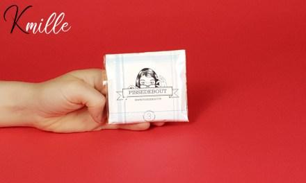 Le pisse-debout jetable, l'origami urinoir féminin de Pissedebout.