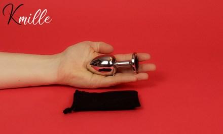Le bijou anal en acier XL BHPLUG3, de la marque Be Bondage