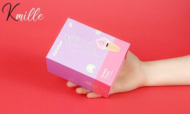 Le stimulateur Satisfyer Layons Sweet Treat, la glace italienne pour clito !