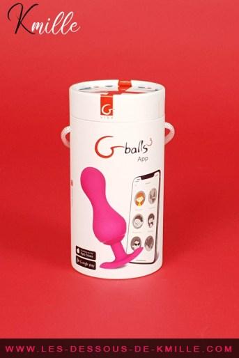 Test de boules vaginales contrôlables depuis un smartphone, de Gvibe.