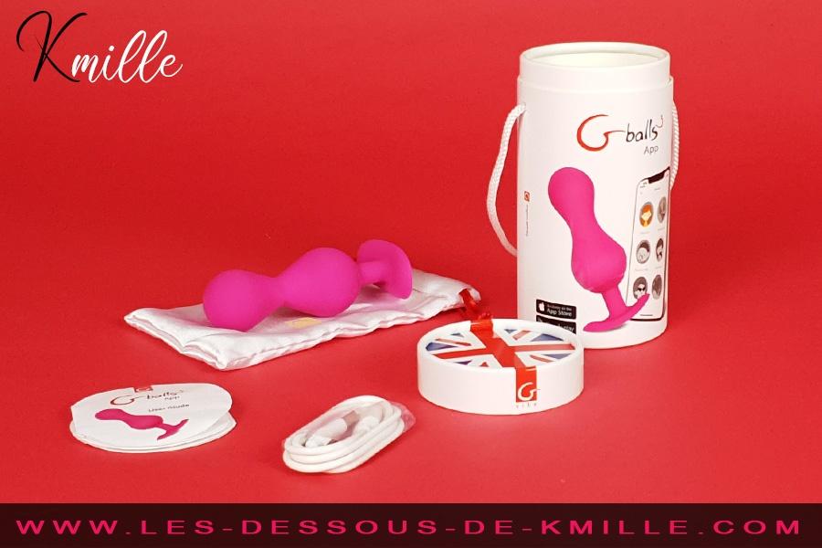 Kmille teste les boules de Geisha connectées Gballs 3, de la marque Gvibe.