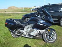 de temps en temps, une vraie moto