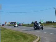 on croise beaucoup de succédanés de motos (Canam Bombardier)