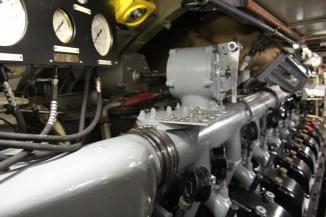 Deux blocs moteurs diesels équivalent à ceux des locomotives