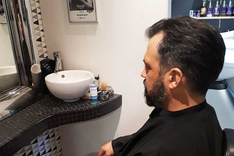 salon de coiffure hommes a la roche